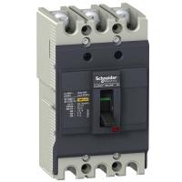 Автоматический выключатель Schneider Electric EZC100F 80A 10кА/400В 3П3T