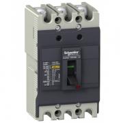 Автоматический выключатель Schneider Electric EZC100N 32A 18 кА/380В 3П3T