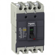 Автоматический выключатель Schneider Electric EZC100N 80A 18кА/380В 3П3T