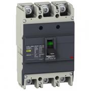 Автоматический выключатель Schneider Electric EZC250F 160A 18 кА/400В 3П3Т