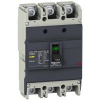Автоматический выключатель Schneider Electric EZC250N 160A 25 кА/400В 3П3Т