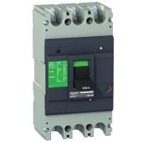 Автоматический выключатель Schneider Electric EZC630N 600A 36кА/415В 3П3Т
