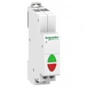 Световой индикатор iIL Acti 9 Schneider Electric красный+зеленый 230В