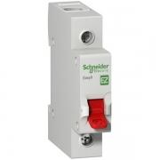Выключатель нагрузки (модульный рубильник) Easy9 1П 80А 230В Schneider Electric