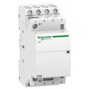 Модульный контактор iCT Acti 9 Schneider Electric 25A 4НО 220В/240В АС 50ГЦ