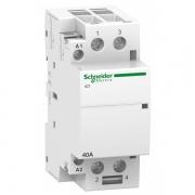 Модульный контактор iCT Acti 9 Schneider Electric 40A 2НО 220В/240В АС 50ГЦ