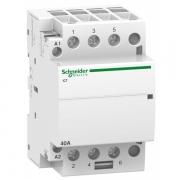 Модульный контактор iCT Acti 9 Schneider Electric 40A 3НО 220В/240В АС 50ГЦ