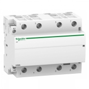 Модульный контактор iCT Acti 9 Schneider Electric 100A 4НО 220В/240В АС 50ГЦ