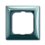 Рамка одинарная ABB Basic 55, цвет голубой