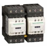Пускатель магнитный реверсивный D Schneider Electric 3Р 40A катушка 220В AC 1НО+1НЗ (контактор)