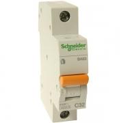 Автоматический выключатель Schneider Electric ВА63 1п 32A C 4,5 кА