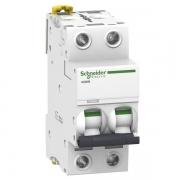 Автоматический выключатель Schneider Electric Acti 9 iC60N 2П 20A 6кА C