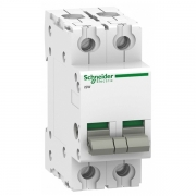 Выключател нагрузки iSW Acti 9 Schneider Electric 2П 100A (модульный рубильник)