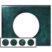 Рамка Legrand Сeliane четырехместная (патина медь)
