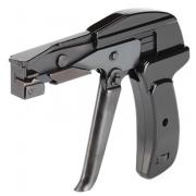 КВТ Инструмент для монтажа нейлоновых стяжек с регулятором усилия затяжки и автоматической обрезкой - TG-01