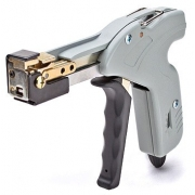 КВТ Инструмент для монтажа стальных стяжек с регулятором усилия затяжки и автоматической обрезкой - TG-05