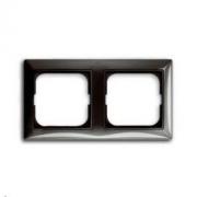 Рамка двойная ABB Basic 55, цвет серый