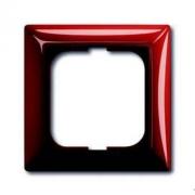 Рамка одинарная ABB Basic 55, красная