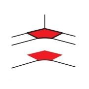 Угол внутренний Legrand DLP для 105x50