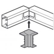 Внутренний угол 130x50мм изменяемый 80°-120° Legrand METRA