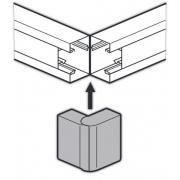 Внешний угол 130x50мм изменяемый 60°-120° Legrand METRA