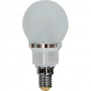 Лампа LED 3.5вт Е14 теплая матовая (шар) FERON (LB-40 6LED)