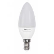 Лампа LED 9Вт Е14 теплый белый матовая свеча JazzWay (5001923)