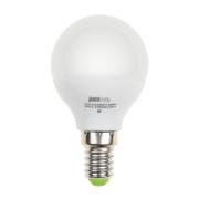 Лампа LED 9Вт Е14 теплый матовый шар JazzWay (2859570)