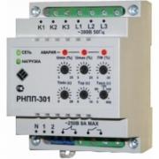 Трехфазное реле напряжения и контроля фаз РНПП-301 5А