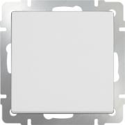 Выключатель одноклавишный проходной белый Werkel a028644 WL01-SW-1G-2W
