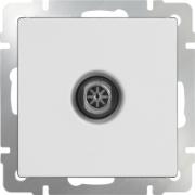 Розетка с заземлением, шторками и USBх2 белая Werkel a033473 WL01-SKGS-USBx2-IP20