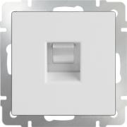 Розетка телевизионная TV проходная белая Werkel a033754 WL01-TV-2W