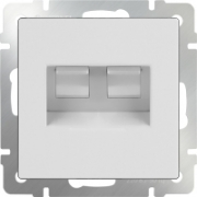 Интернет розетка RJ-45 белая Werkel a028833 WL01-RJ-45
