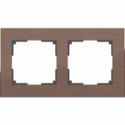 Рамка одинарная белое стекло Werkel Favorit a030819 WL01-Frame-01