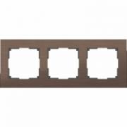 Рамка для двойной розетки белое стекло Werkel Favorit a033478 WL01-Frame-01-DBL