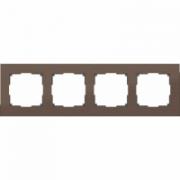 Рамка двойная белое стекло Werkel Favorit a030820 WL01-Frame-02
