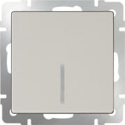 Рамка одинарная Werkel Favorit, черное стекло a031797 WL01-Frame-01