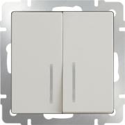 Рамка тройная Werkel Favorit, черное стекло a031799 WL01-Frame-03