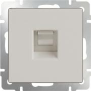 Рамка одинарная Werkel Favorit, мокко стекло a031792 WL01-Frame-01