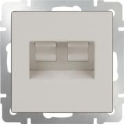 Рамка четверная Werkel Favorit, мокко стекло a031795 WL01-Frame-04