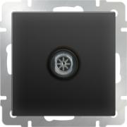 Выключатель одноклавишный серо-коричневый Werkel a029842 WL07-SW-1G