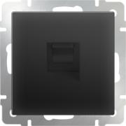 Выключатель двухклавишный проходной серо-коричневый Werkel a029874 WL07-SW-2G-2W