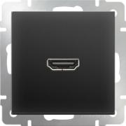 Выключатель одноклавишный проходной с подсветкой серо-коричневый Werkel a029869 WL07-SW-1G-2W-LED