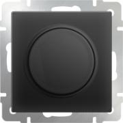 Выключатель двухклавишный с подсветкой серо-коричневый Werkel a029879 WL07-SW-1G-2W-LED