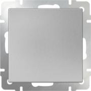 Розетка с заземлением и шторками серо-коричневая Werkel a029862 WL07-SKGS-01-IP44