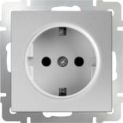 Светорегулятор поворотный до 600 Вт серо-коричневый Werkel a029852 WL07-DM600