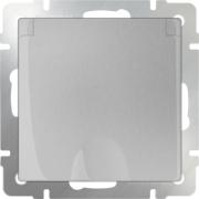 Выключатель одноклавишный черный матовый Werkel a029851 WL08-SW-1G