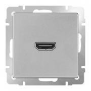 Выключатель двухклавишный проходной с подсветкой черный матовый Werkel a029877 WL08-SW-2G-2W-LED