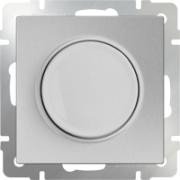 Розетка с заземлением черная матовая Werkel a029860 WL08-SKG-01-IP20