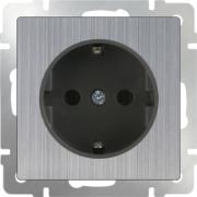 Светорегулятор поворотный до 600 Вт черный матовый Werkel a029853 WL08-DM600